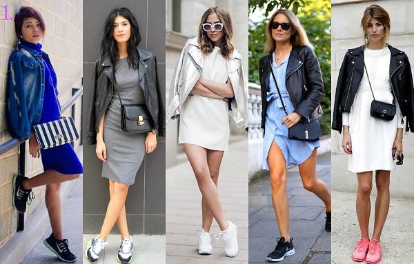 Pantofi sport cu rochii