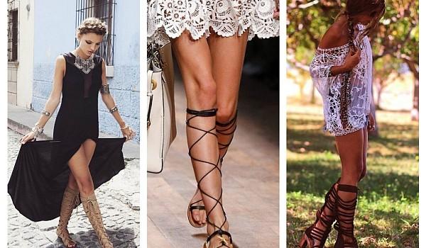 Sandalele Gladiator